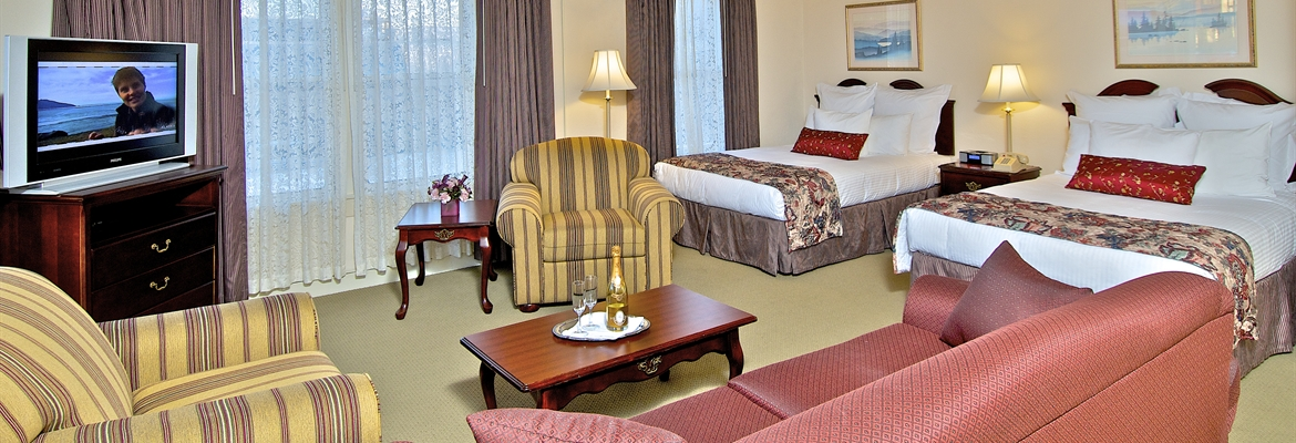 anchorage hotel room